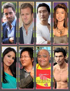Hawaii 5-0 cast  ♥♥♥