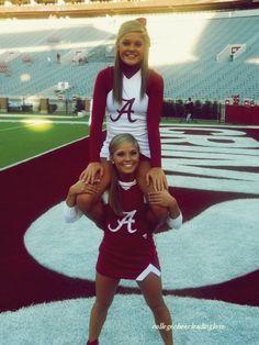 Cheerleaders are always cute <3