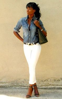 I must find the perfect jean shirt. No western buttons and a medium dark color.