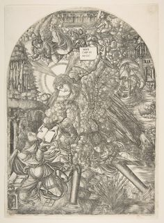 The Angel Gives Saint John the Book to Eat, from the Apocalypse  Published n.d.