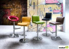 Hoker barowy STARK - sklep meblowy Dining Chairs, Loft, Furniture, Home Decor, Decoration Home, Room Decor, Dining Chair, Lofts, Home Furnishings