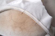 Sewing a flat bias neckline