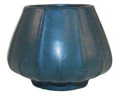 Van Briggle Pottery 1915 Blue Yucca Vase 747