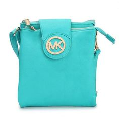 Charming Michael Kors Fulton Pebbled Large Blue Crossbody Bags Make You To BeCrazy