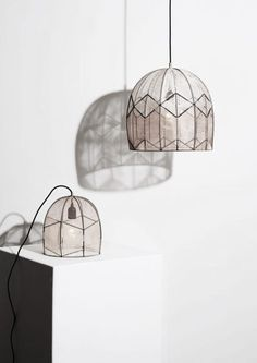 Intricate by Alexandra Raben Design * Shock of the Lighting * The Inner Interiorista Cool Lighting, Lighting Design, Pendant Lighting, Pendant Lamps, Stockholm Design, Everything Is Illuminated, Luminaire Vintage, I Love Lamp, All Of The Lights