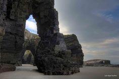 La playa de los arcos gigantes