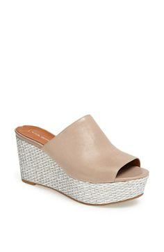 Via Spiga 'Hale' Wedge Sandal available at #Nordstrom