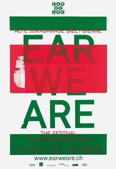 EAR WE ARE, festival for improvised music 2013