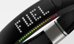 NikeFuel - a new wrist band that tracks your daily activity (and tells time) that can be synced with a software app to track your progress with a social integration for bragging to friends.