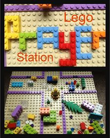 Flame: Creative Children's Ministry: More Praying with Lego: Lego Prayer Station