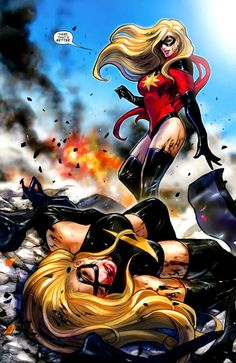 Moonstone vs Miss Marvel                                                       …