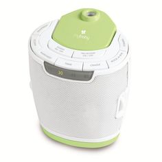 A white noise machine can also help a new baby sleep.
