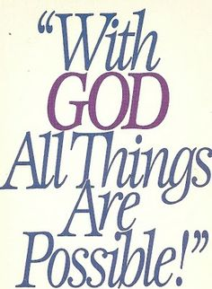 Without him we can do nothing!