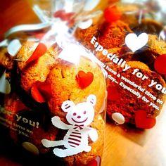 校内研修の間のノートを 取ってくれていた 友だちへ 感謝の気持ちを込めて(*´∀`*)♡ - 159件のもぐもぐ - チョコチップクッキー♪ by m8l7rktsk3chu