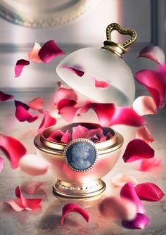 Pink petal blush from Laduree. Swirl your brush over the petals for a sweet flush!