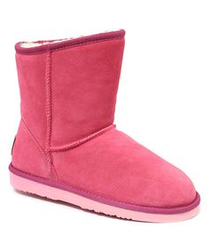 Loving this Rose Sierra Suede Boot on #zulily! #zulilyfinds