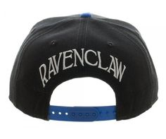 - Features Ravenclaw House Crest - One Size Fits Most - Snapback Style - Officially Licensed