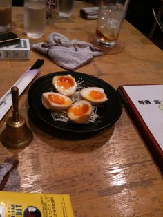 冷たいゆで卵