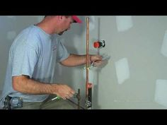 Shannon from http://www.house-improvements.com shows you how to install a water line to your fridge so you can use your fridge's ice maker or water dispenser features.