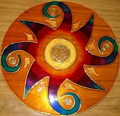 1 million+ Stunning Free Images to Use Anywhere Old Cd Crafts, Diy Arts And Crafts, Faux Stained Glass, Stained Glass Patterns, Mandala Design, Mandala Art, Recycled Cds, Cd Diy, Mandala Painted Rocks
