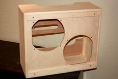 Rawcabs Blues Junior III Narrow Panel 2x12 Pine Empty Combo Cabinet | eBay