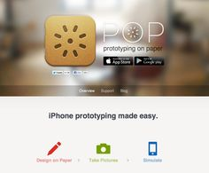 POP: Perfect solution for designers collaborating on wireframes