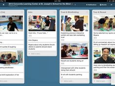 Our Trello board for editing St Joe's episode... we use this as a framework and adjust as we go. More at http://www.thislearning.com/2013_st_joseph_s_school_for_the_blind #backstage
