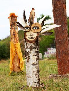 Shit We're Diggin': Zonekinder's Tree Characters in Ukraine | Wooster Collective