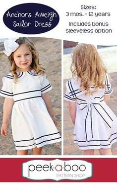 Anchors Aweigh Sailor Dress