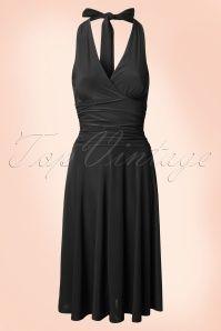 9bae40747ed9f Vintage Chic Halter Neck Red Dress 104 20 14908 20150319 0004W Vintage  Tops, Vintage Dresses