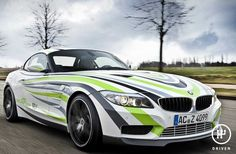 AC Schnitzer Concept The AC Schnitzer Concept generates only - that\'s less than any standard BMW vehicle available at present. Lamborghini, Ferrari, Bugatti, New Car Wallpaper, Sports Car Wallpaper, Bmw Z3, Pictures Of Sports Cars, Car Pictures, Car Pics