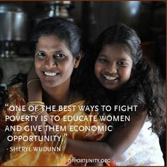 All around the world, Opportunity International clients are using their newfound economic success to strengthen their families and communities. #women #endpoverty #india