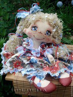 Купить Текстильная Кукла на Счастье. Светланка. - интерьерная кукла, забавный подарок, красивая кукла