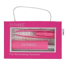 La-Tweez La-Tweez pinzeta s osvětlením Pink And Gold, Beauty, Wedding Ideas, Beauty Illustration, Wedding Ceremony Ideas