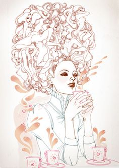 Marguerite Sauvage #illustration | http://www.margueritesauvage.com/