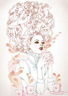 Marguerite Sauvage #illustration | http://www.margueritesauvage.com/