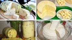 recepty na domácí sýry