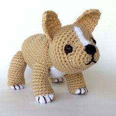 FRENCH BULLDOG PUPPY Pdf crochet pattern English only