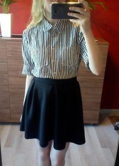 Kup mój przedmiot na #vintedpl http://www.vinted.pl/damska-odziez/koszule/14865388-szeroka-koszula-w-paski-z-kolnierzem