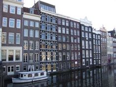 Amsterdam  some of these buildings you can stretch your arms out and touch the walls on both sides of the room.
