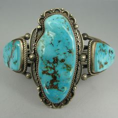 Drool-worthy turquoise cuff