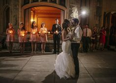 This pretty Hatley Castle wedding in Victoria, BC was truly a fairytale. Ophelia Photography captured photos of the day's pink decor and golden candlelight. Wedding Blog, Wedding Stuff, Wedding Day, Hatley Castle, Victoria B, Capture Photo, First Dance, Bridal Portraits, Roads