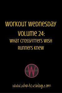 How is it Wednesday already!? Holiday weekends always mess me up. This article was originally published in Colorado Runner Magazine. It was a lot of fun to research, and by the time I sent it to my editor, I was jonesing to try a CrossFit workout myself. It's still on my to-list. I will let …