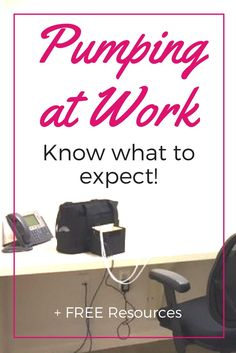 In depth post about how to prepare for pumping at work, what you need to know, what you need to get, and many tips along the way! Plus FREEBIES to keep! Breastfeeding Toddlers, Extended Breastfeeding, Breastfeeding In Public, Breastfeeding Problems, Tire Lait, Pumping Schedule, Pumping At Work, Breastfeeding Accessories, Baby Feeding