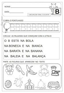 Atividades de A á Z Dani Educar Portuguese Language, Homeschool, Education, Pll, Facebook, Preschool Literacy Activities, Interactive Activities, Writing Activities, Abc Centers