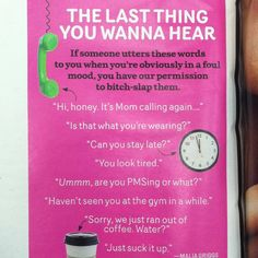 Have to love Cosmo magazine lol