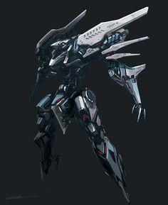 ラクガキ Arte Robot, Robot Art, Robot Concept Art, Armor Concept, Game Character Design, Character Design Inspiration, Robot Animal, Armored Core, Futuristic Robot
