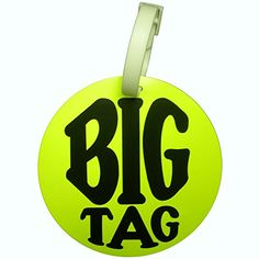 Travel Essentials Big Tag Identification Tag in Yellow -- Click image to review more details.Note:It is affiliate link to Amazon.