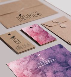 Bormes, creación de marca y aplicaciones Portfolio Logo, Organize, Organization, Logos, Stationery Design, Corporate Identity, The Creation, Organisation, A Logo
