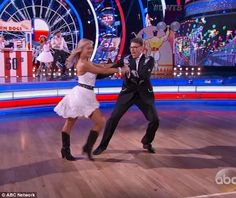New dancer: Rick Perry who has never danced before performed with pro partner…